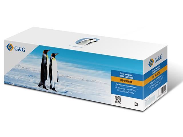 Картридж G&G NT-W1103A для HP Neverstop Laser 1000a/1000w/1200a/1200w 2500k