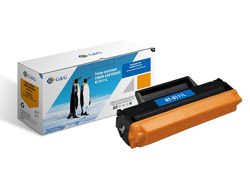 Картридж G&G NT-D111L для Samsung SL-M2020/2022/2070 1800k