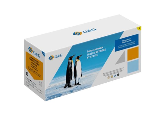 Картридж G&G NT-CF412X для HP LaserJet Color M452dn/M477fdn 5000k