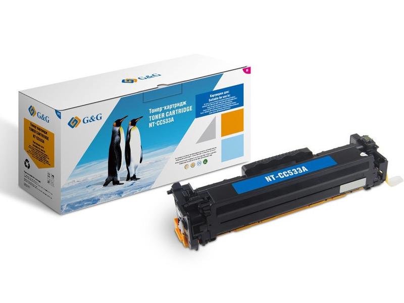 Картридж G&G NT-CC533A для HP Color LaserJet CM2320/CP2025/Canon MF8330/8350 2800k