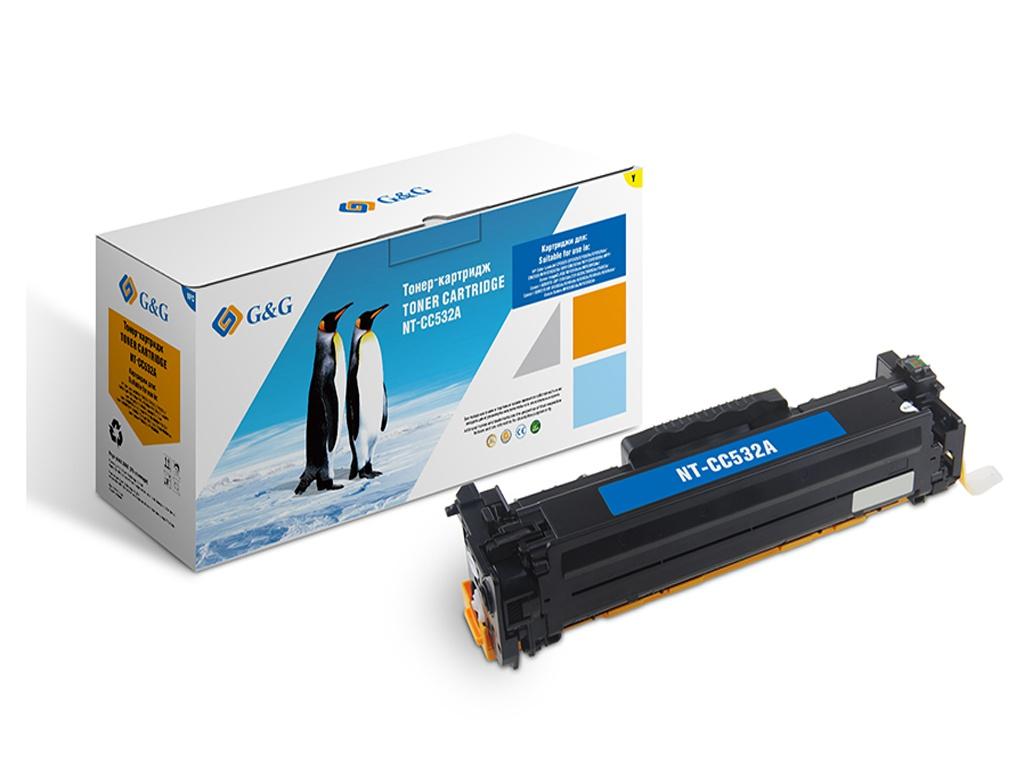 Картридж G&G NT-CC532A для HP Color LaserJet CM2320/CP2025/Canon MF8330/8350 2800k