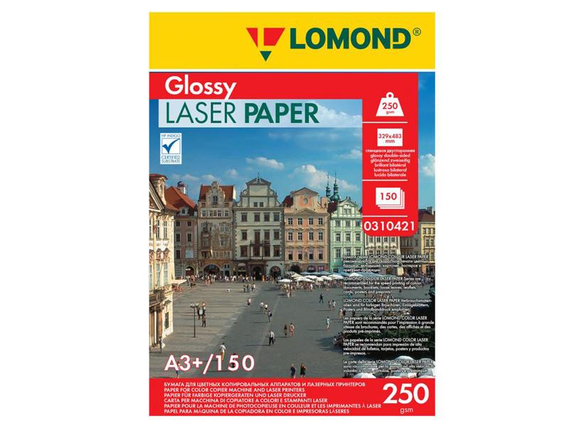 Фотобумага Lomond A3+ 250g/m2 глянцевая двухсторонняя 150 листов 310421