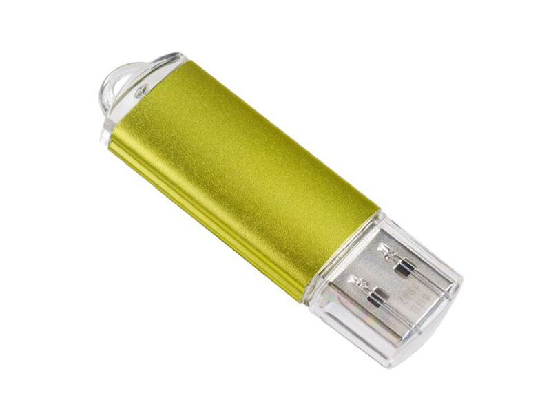 USB Flash Drive 128Gb - Perfeo 3.0 C14 Metal Series Gold PF-C14Gl128ES