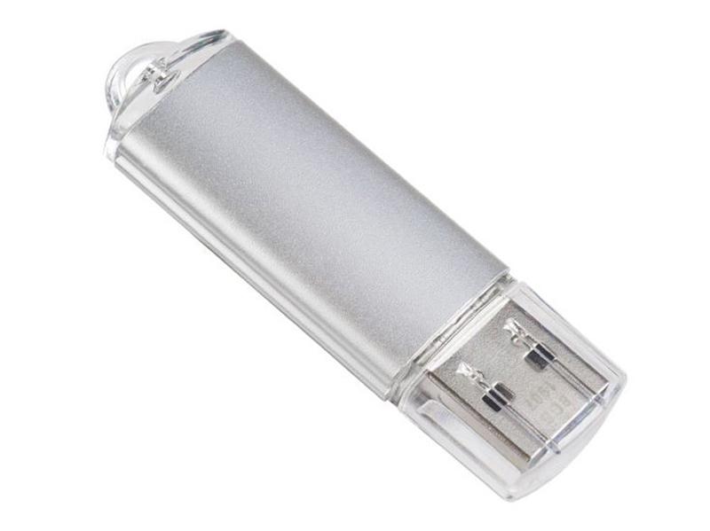 USB Flash Drive 64Gb - Perfeo 3.0 C14 Metal Series Silver PF-C14S064ES