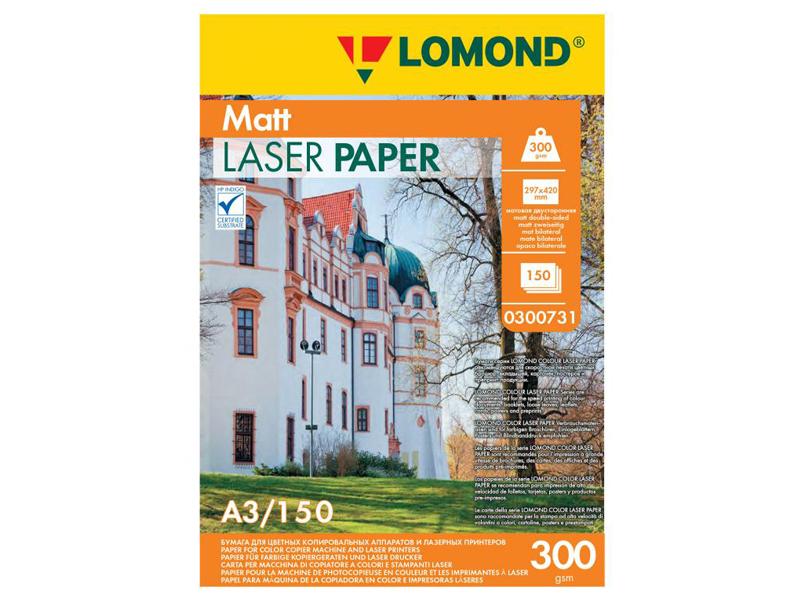 Фотобумага Lomond A3 300g/m2 матовая двухсторонняя 150 листов 300731