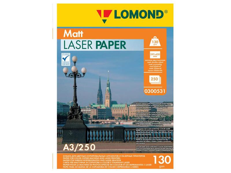 Фотобумага Lomond A3 130g/m2 матовая двухсторонняя 250 листов 300531