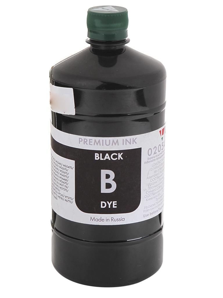 Чернила Lomond LC16-010B 1L Black для Canon 205475