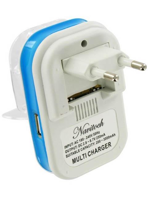 Зарядное устройство Navitoch Лягушка 250mAh 04021