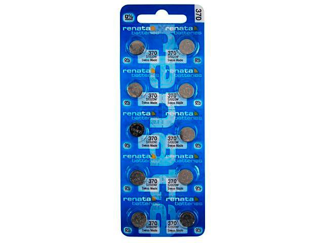 Батарейка R370 - Renata SR920W/10BL (10 штук)