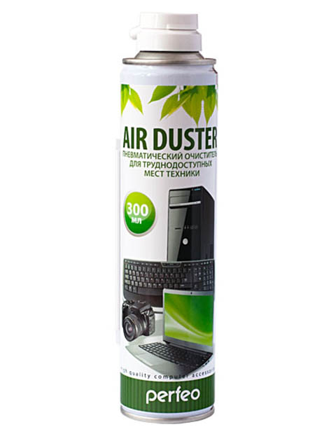 Сжатый воздух Perfeo Air Duster для чистки техники 300ml PF-A300