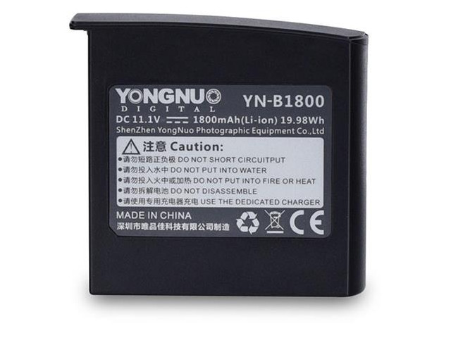 Аккумулятор YongNuo YNB-1800 для вспышки YN860