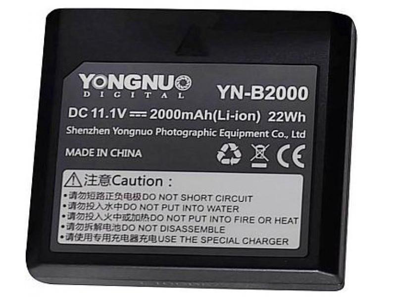 Аккумулятор YongNuo YNB-2000 для вспышки YN686EX-RT/YN720