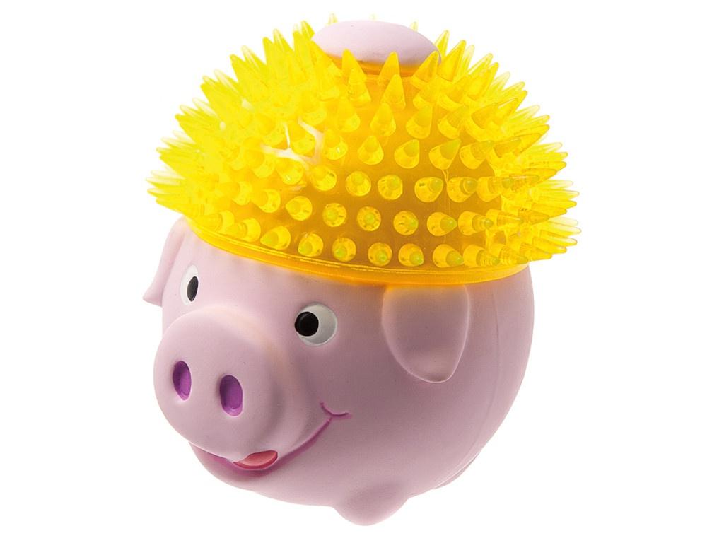 Свинка в шапке из TPR ZooOne 11cm L-425