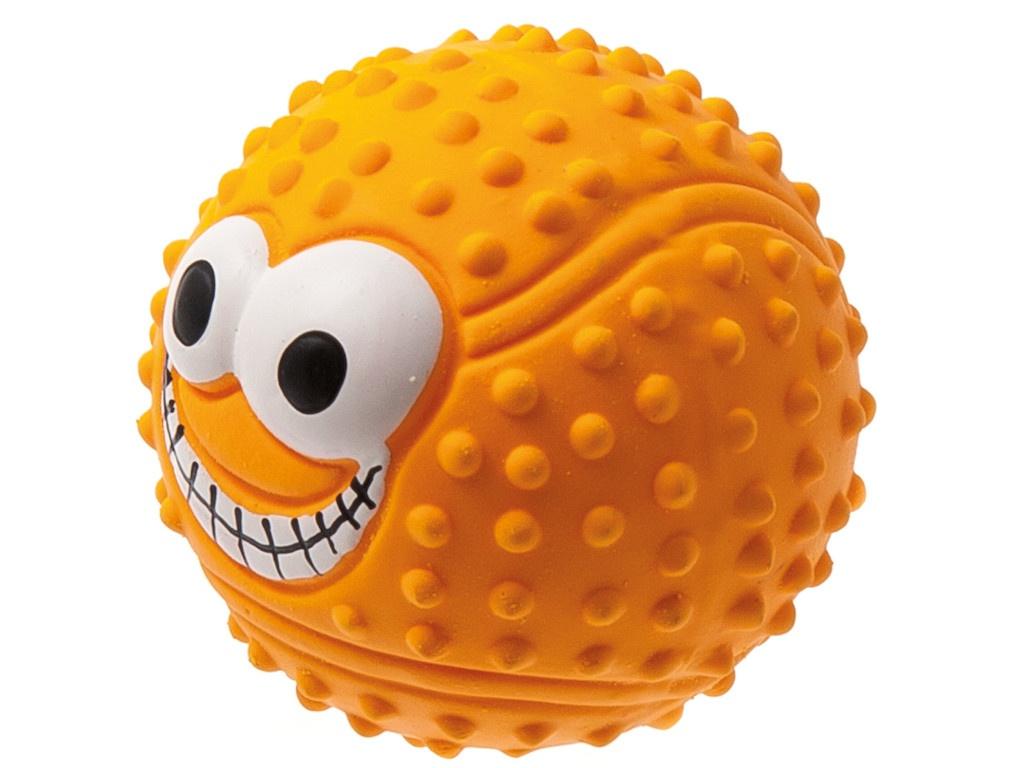 Теннисный мяч с глазами ZooOne 7.5cm L-435