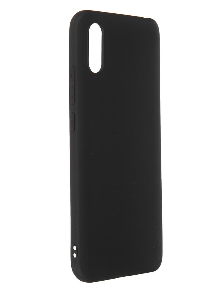 Чехол Svekla для Xiaomi Redmi 9A Silicone Black SV-XIR9A-MBL