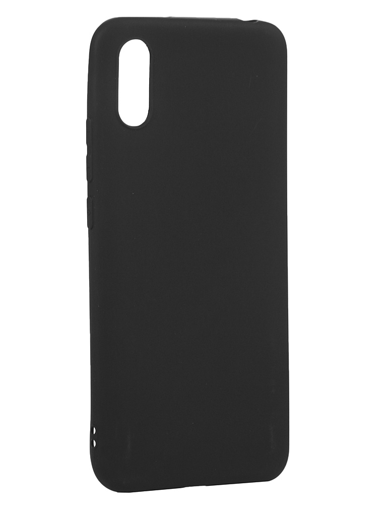 Чехол Zibelino для Xiaomi Redmi 9A Soft Matte Black ZSM-XIA-RDM-9A-BLK