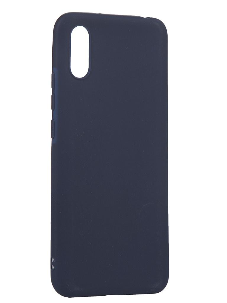 Чехол Zibelino для Xiaomi Redmi 9A Soft Matte Blue ZSM-XIA-RDM-9A-DBLU
