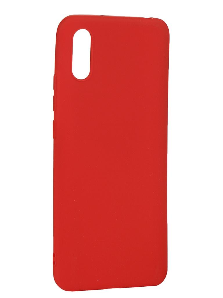 Чехол Zibelino для Xiaomi Redmi 9A Soft Matte Red ZSM-XIA-RDM-9A-RED