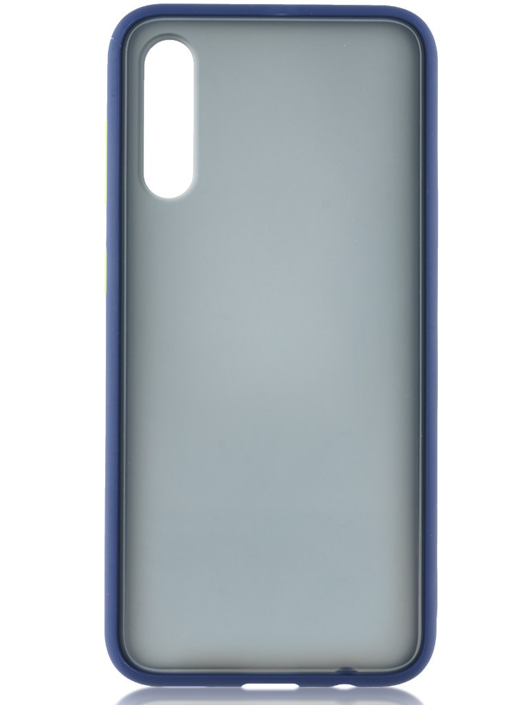 Чехол Brosco для Samsung Galaxy A50/A30/A30s Blue-Green SS-A50-ST-TPU-BLUE-GREEN