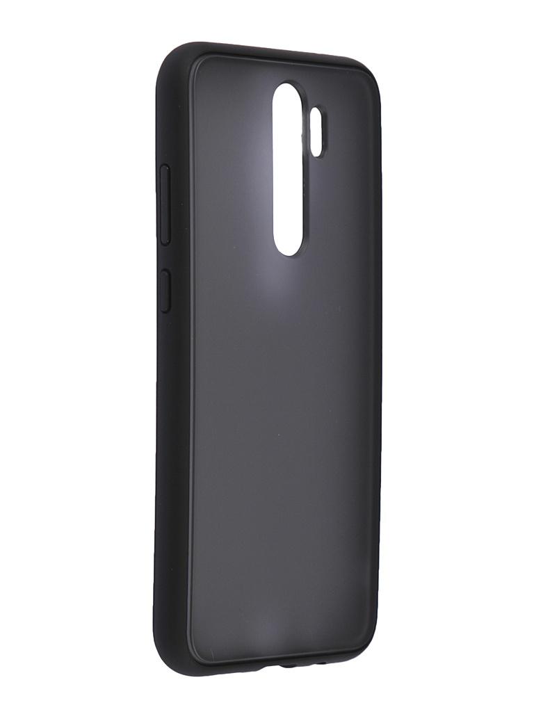 Чехол Brosco для Xiaomi Redmi Note 8 Pro Black XM-RN8P-ST-TPU-BLACK