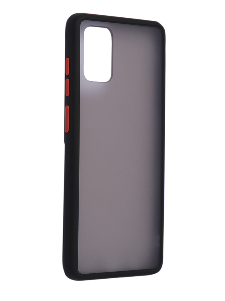 Чехол Brosco для Samsung Galaxy A71 Black-Red SS-A71-ST-TPU-BLACK-RED