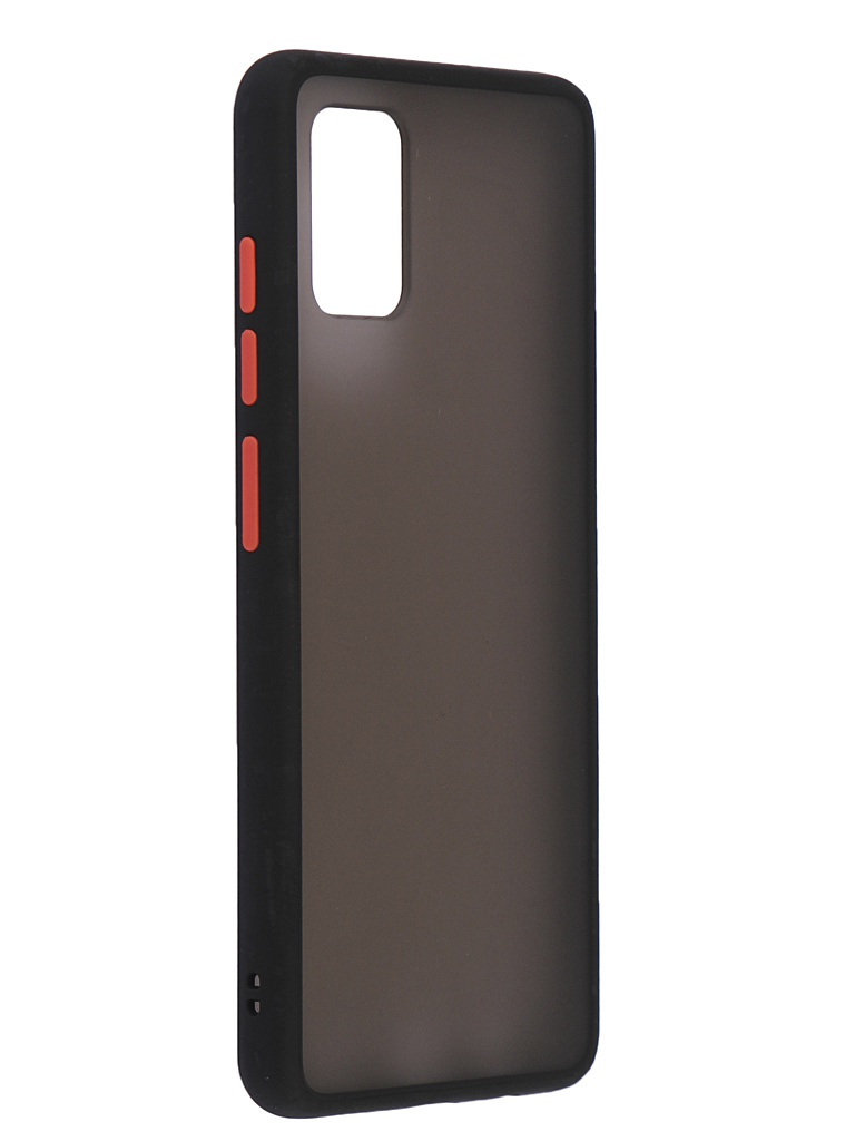 Чехол Brosco для Samsung Galaxy A51 Red-Black SS-A51-ST-TPU-BLACK-RED
