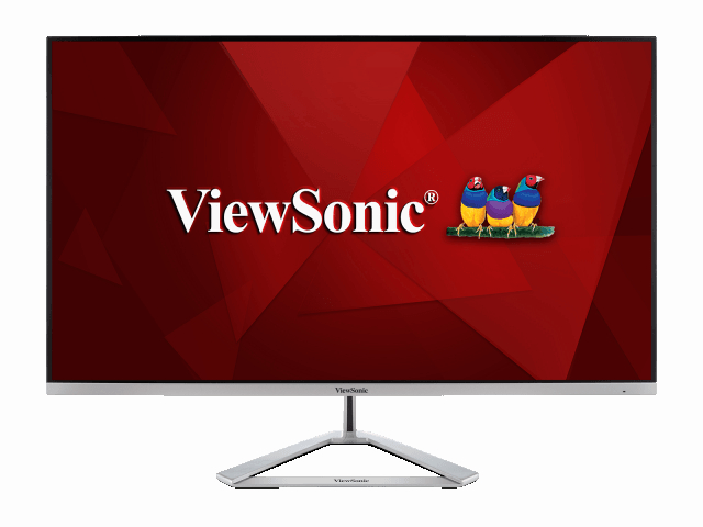 Монитор Viewsonic VX3276-4K-MHD Black-Silver
