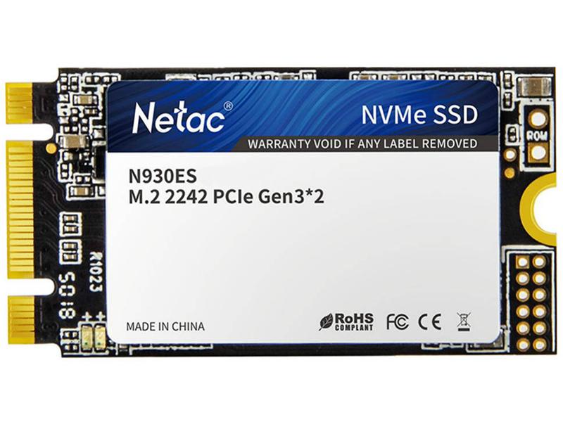 Твердотельный накопитель Netac Series Retail N930ES 512Gb NT01N930ES-512G-E2X