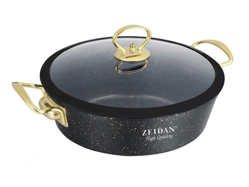 Сковорода Жаровня Zeidan 3L 24cm Z-50380