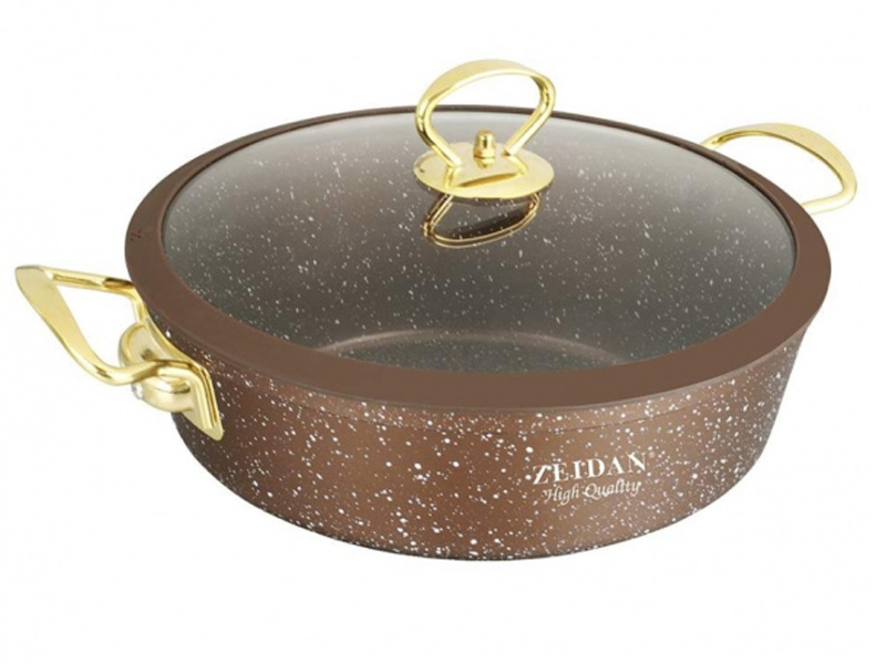 Сковорода Жаровня Zeidan 3L 24cm Z-50366