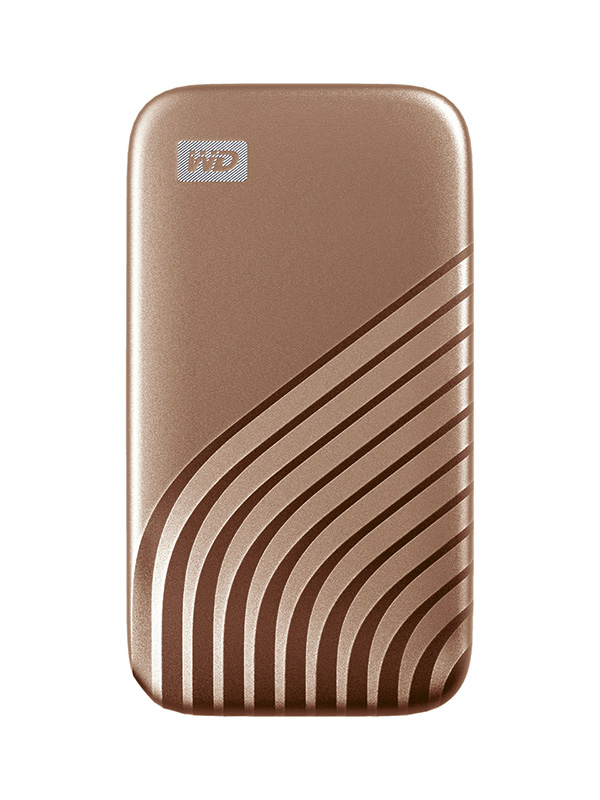 Фото - Твердотельный накопитель Western Digital My Passport 1Tb Gold WDBAGF0010BGD-WESN твердотельный накопитель gigabyte vision drive 1tb gp vsd1tb