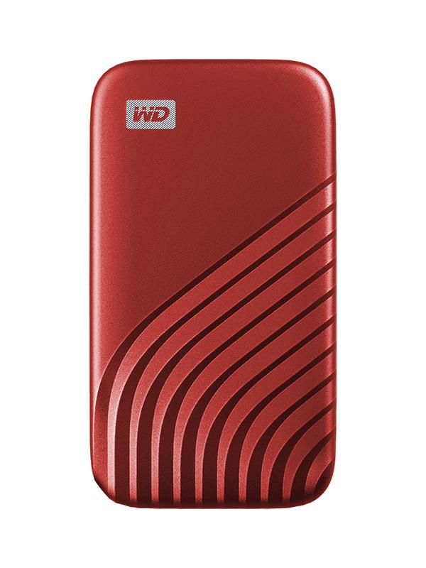 Фото - Твердотельный накопитель Western Digital My Passport 1Tb Red WDBAGF0010BRD-WESN твердотельный накопитель gigabyte vision drive 1tb gp vsd1tb