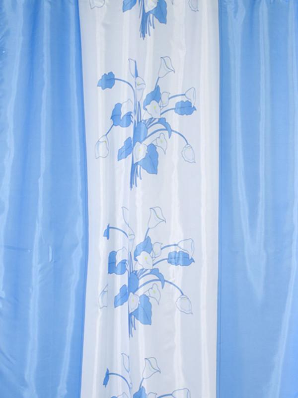 Шторка Aquarius Цветы 180x200cm 48664