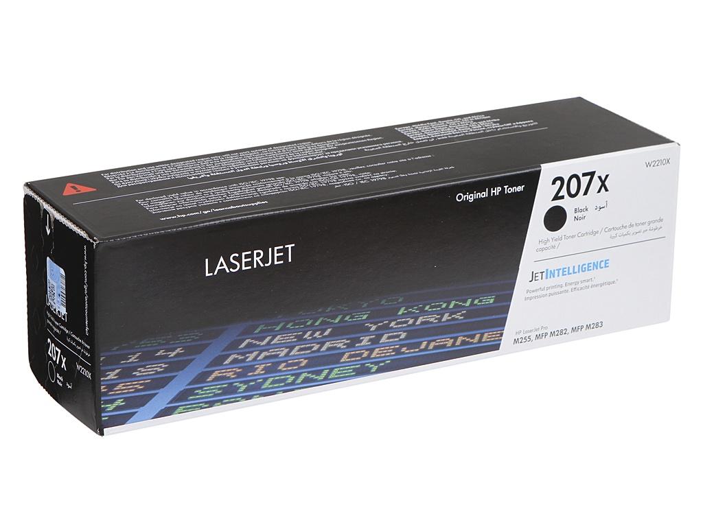 Картридж HP 207X Black W2210X для M255/MFP M282/M283