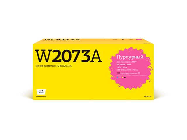 Картридж T2 (схожий с HP 117A W2073A) Magenta для Color Laser 150a/150nw/MFP 178nw/MFP 179fnw чипом TC-HW2073A
