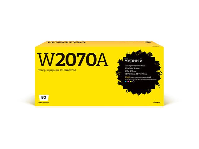 Картридж T2 (схожий с HP 117A W2070A) Black для Color Laser 150a/150nw/MFP 178nw/MFP 179fnw чипом TC-HW2070A