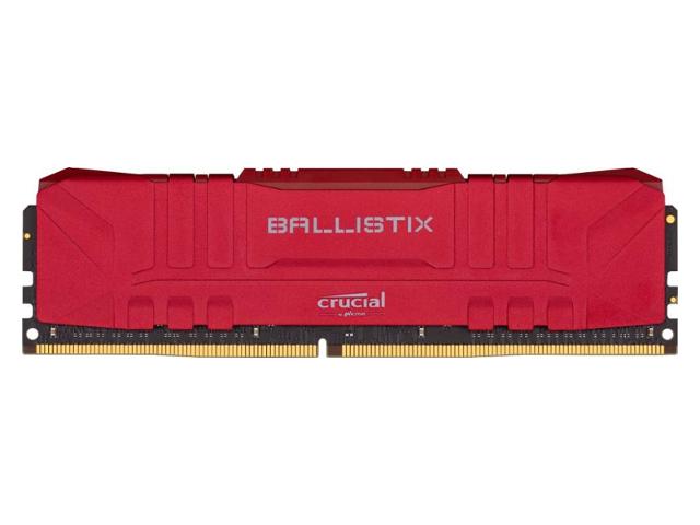Модуль памяти Ballistix Red DIMM 3200MHz PC4-25600 CL16 - 8Gb BL8G32C16U4R