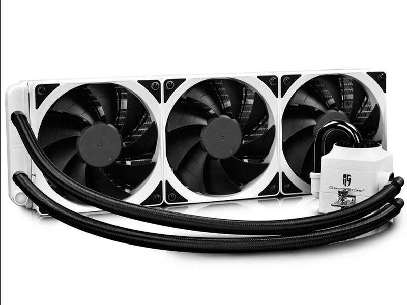Водяное охлаждение DeepCool Captain 360X White (Intel LGA2066/2011-v3/2011/LGA1200/1151/1150/1155/1366// AMD TRX4/TR4/AM4/AM3+/AM3/AM2+/AM2/FM2+/FM2/FM1)