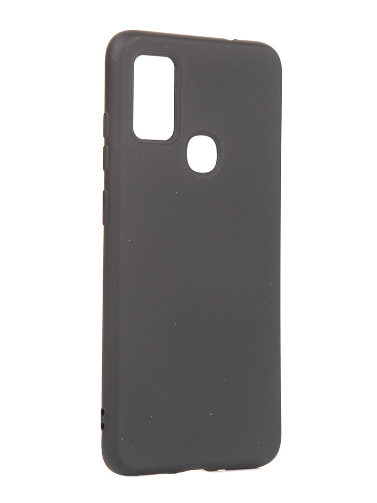 Чехол DF для Samsung Galaxy M51 Silicone Black sOriginal-16