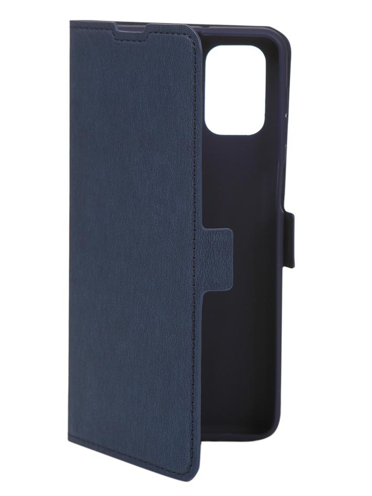 Чехол DF для Samsung Galaxy M31s Blue sFlip-73
