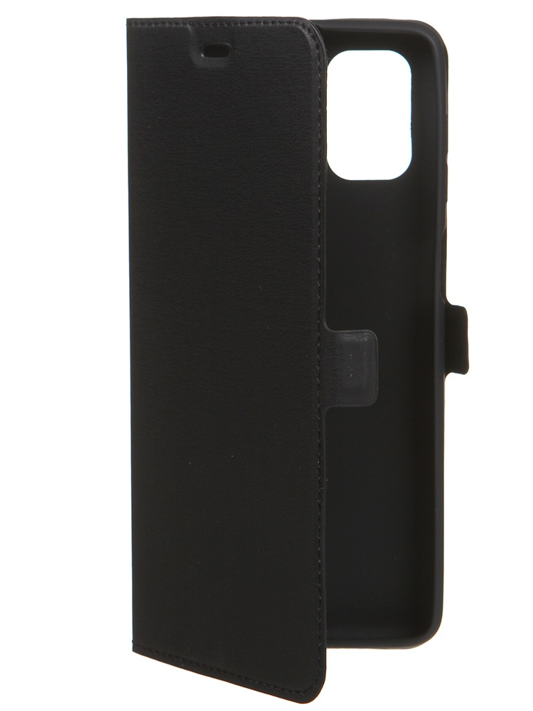 Чехол DF для Samsung Galaxy M51 Black sFlip-71 чехол df для samsung galaxy m51 blue sflip 71