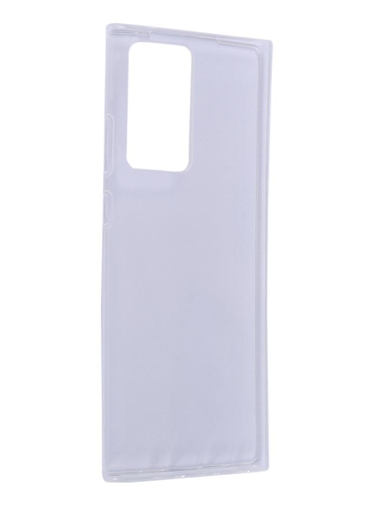 Чехол DF для Samsung Galaxy Note 20 Ultra Silicone Super Slim sCase-103