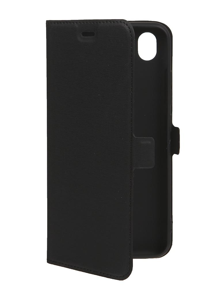 Чехол DF для Vivo Y1S Black vFlip-08