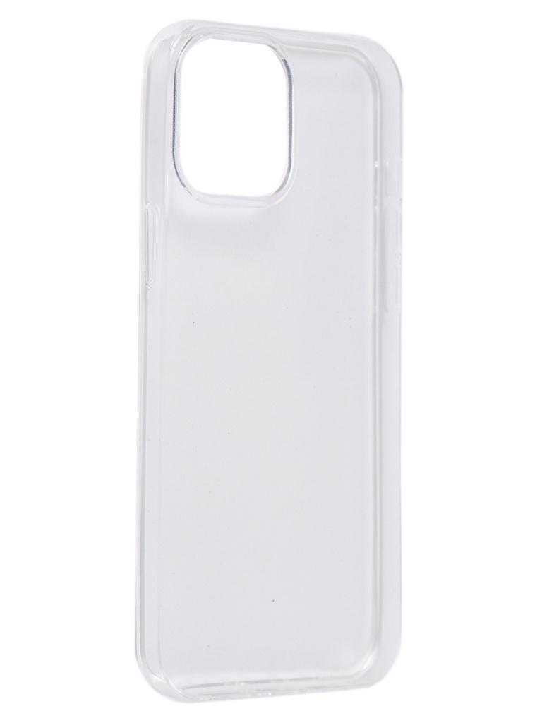 Чехол Pero для APPLE iPhone 12 Pro Max Silicone Clip Case Transparent CC01-I12PMTR