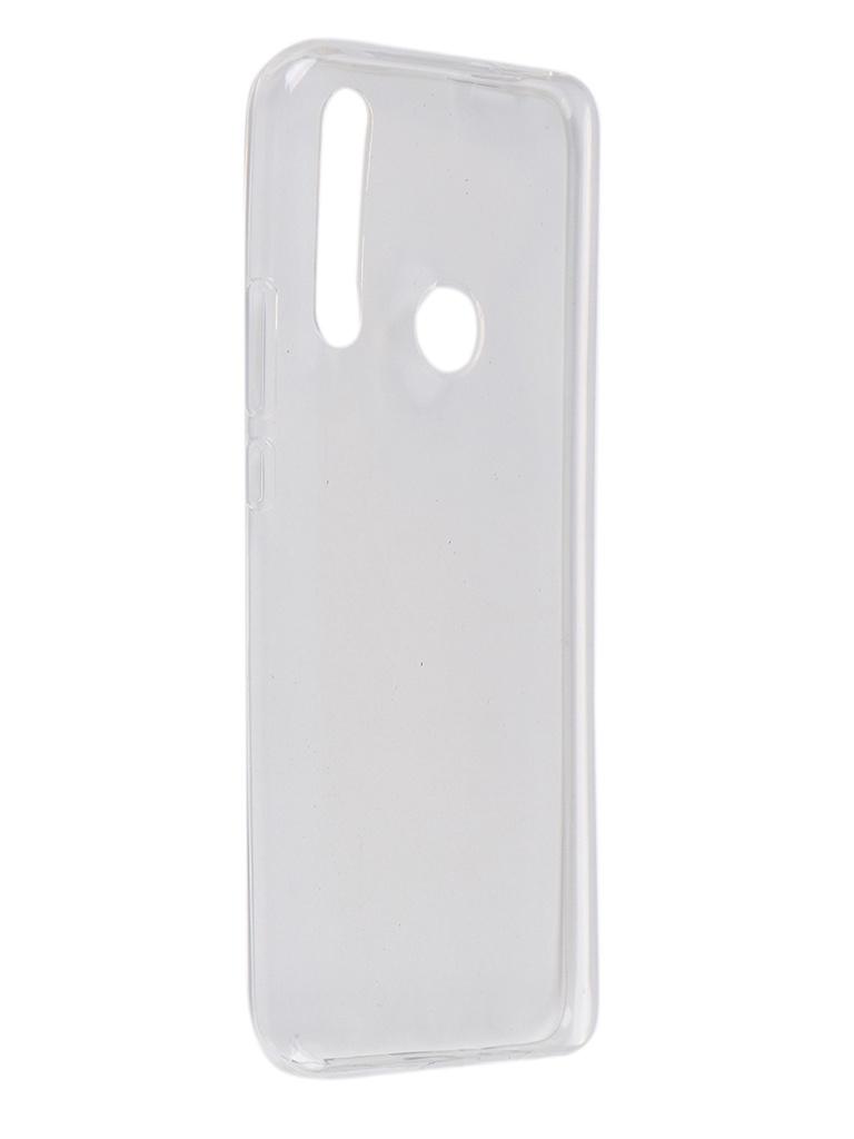 Чехол Pero для Huawei Y9 Prime 2019 Silicone Clip Case Transparent CC01-Y9P19TR