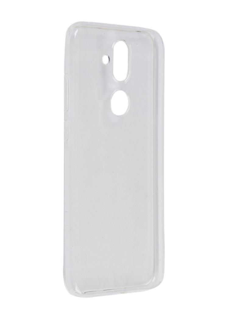 Чехол Pero для Nokia 7.1 Silicone Clip Case Transparent CC01-N71TR