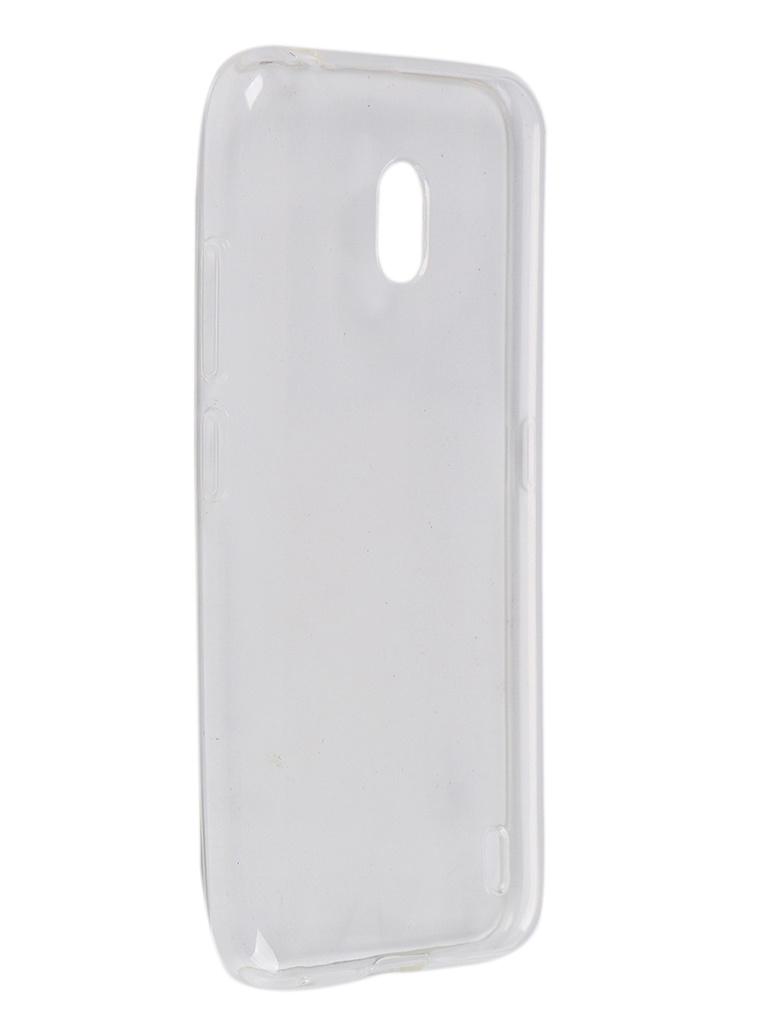 Чехол Pero для Nokia 2.2 Silicone Clip Case Transparent CC01-N22TR