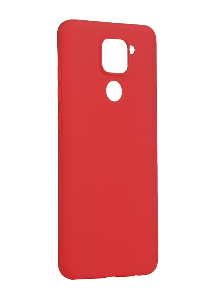 Чехол Pero для Xiaomi Redmi Note 9 Red CC01-RN9R