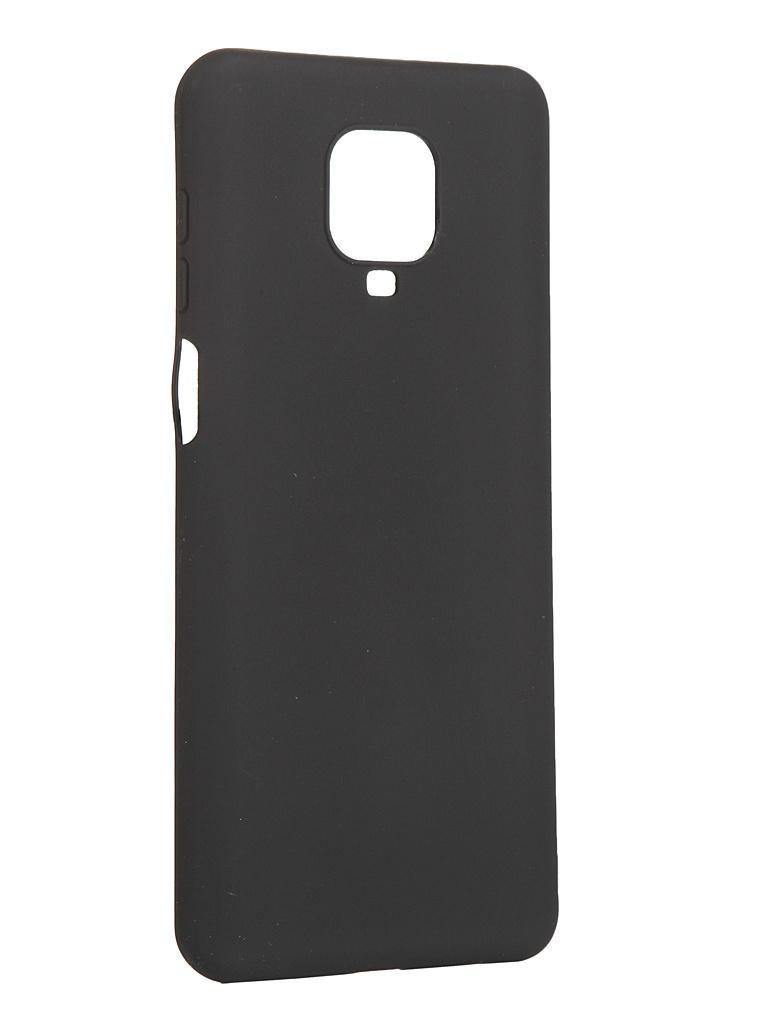 Чехол Pero для Xiaomi Redmi Note 9 Pro / Note 9S Black CC01-RN9PB чехол pero для xiaomi redmi note 8 pro soft touch blue cc01 rn8pbl