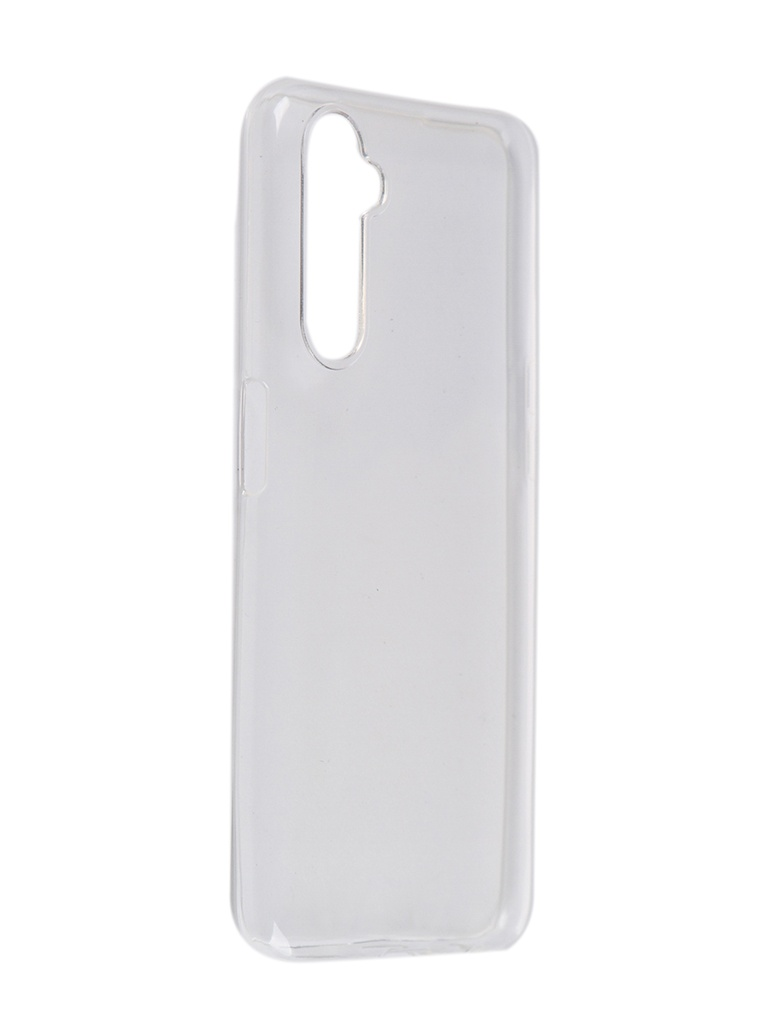Чехол Pero для Realme 6 Silicone Clip Case Transparent CC01-R6TR